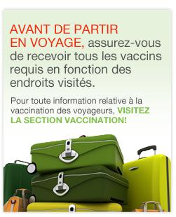 Liens vers les vaccins